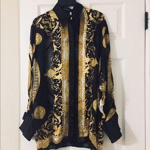 Massardi Gold Label beautiful Shirt/Silk/RN 84022